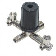 Regulador de pressão tipo Cruzeta para motocompressor