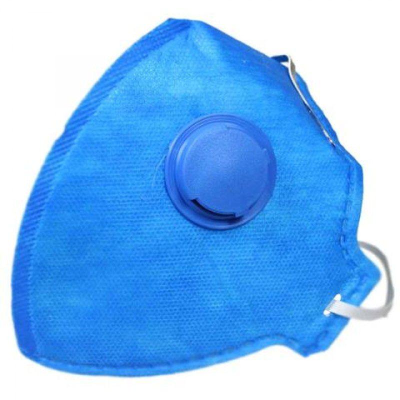 4 Máscaras Respirador Dobrável Válvula Pff1 Poeiras E Névoas