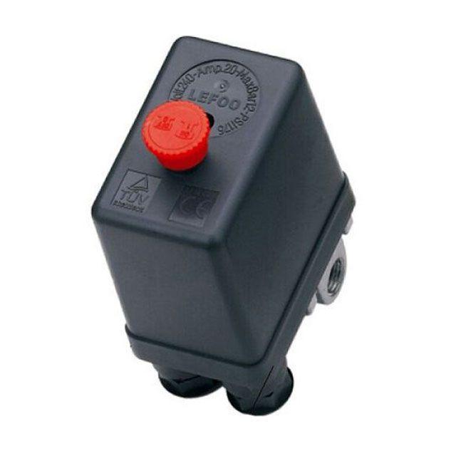 60 pressostato automático de botão 80 - 120 psi