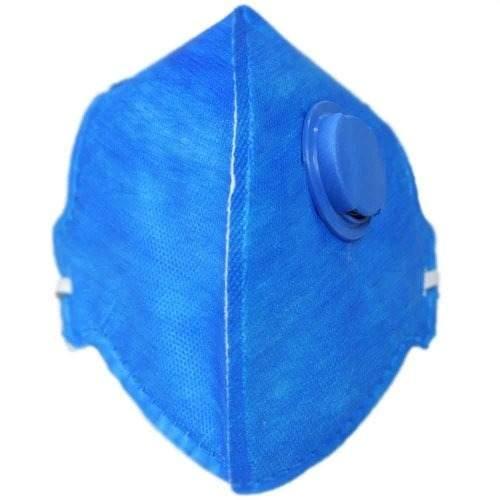 Kit 4 Máscaras Respirador Válvula Pff2 Poeiras Névoas Fumos