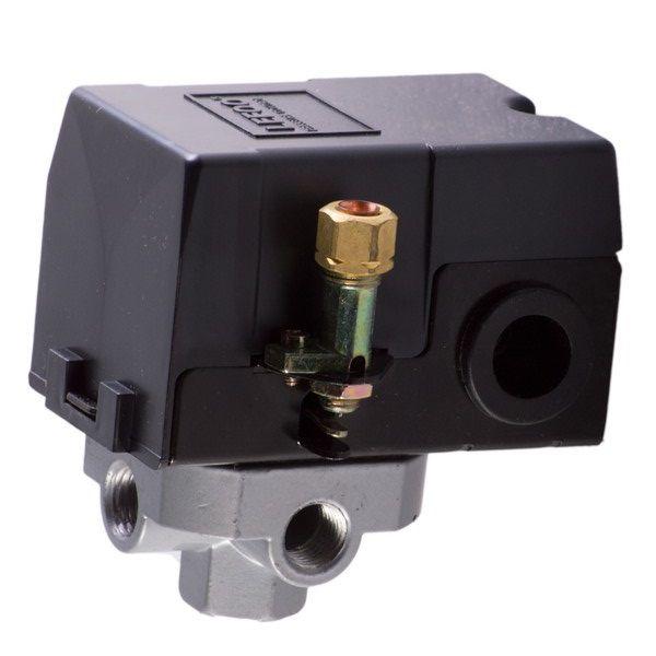 Automático Compressor 100 - 140 psi + Válvula segurança e Bujões