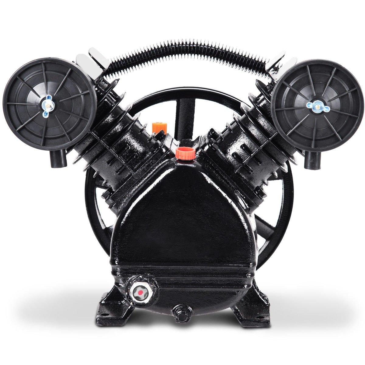 Cabeçote compressor unidade completo 10 pés 140psi em V