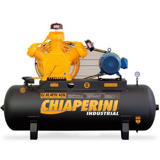 Compressor De Ar Chiaperini 40 Pés (pcm) AP3V CJ 425L Trifásico