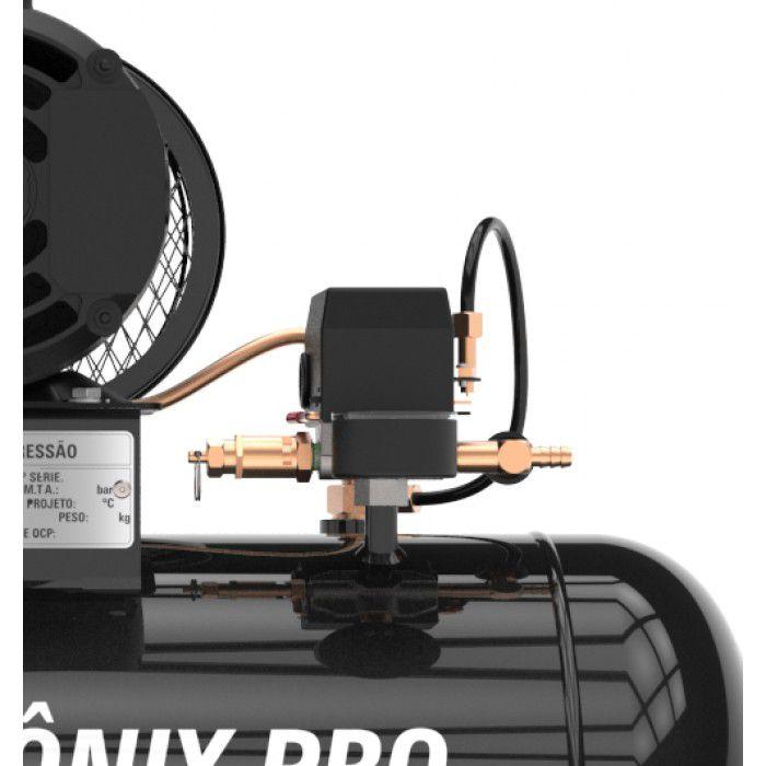 Compressor De Ar Pressure 10 Pés (pcm) 100l - Monofásico Bivolt