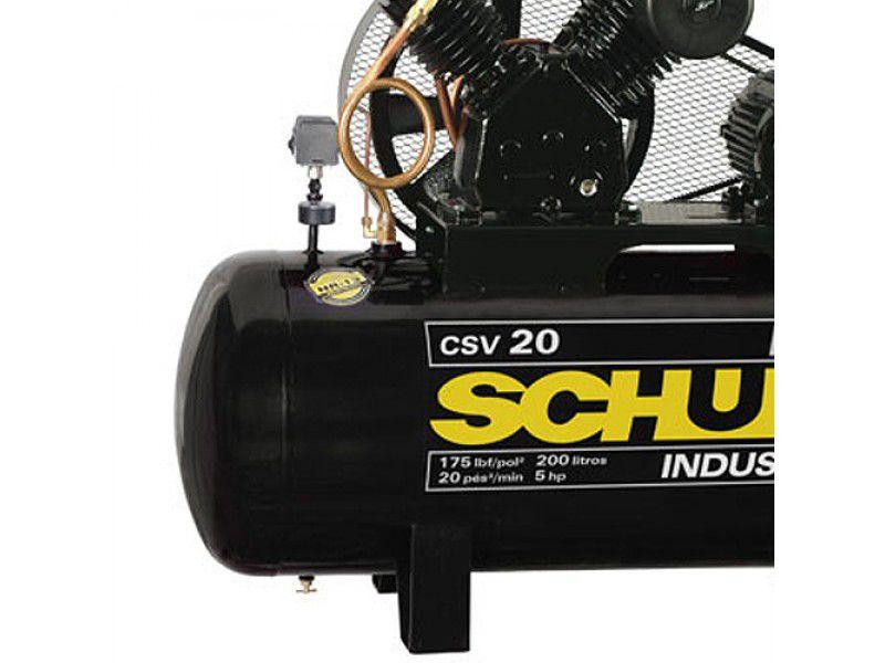 Compressor De Ar Schulz 20 Pcm (pés) Csv Max 200 Litros