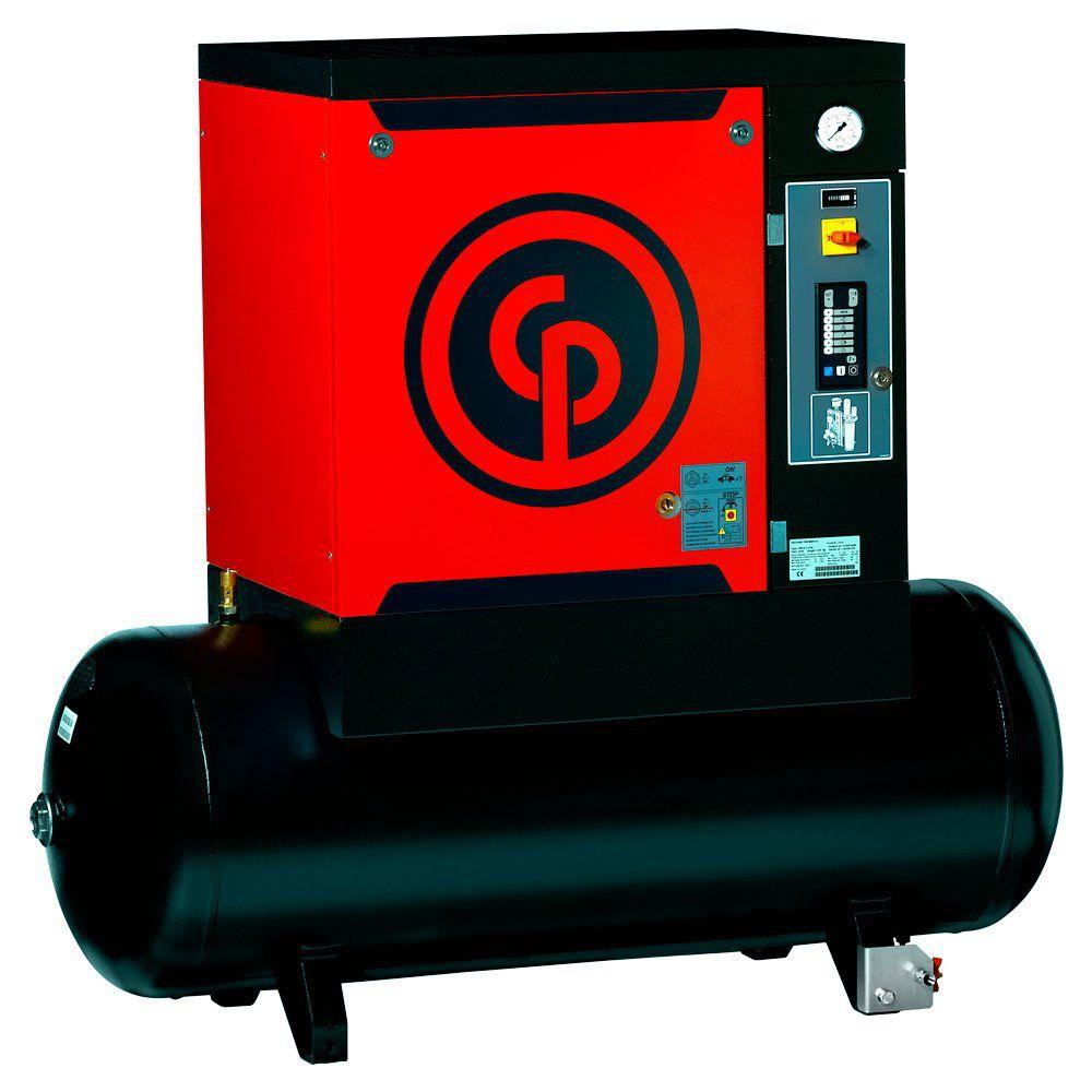 Compressor Rotativo Parafuso CPM 15HP CHICAGO C/ SECADOR