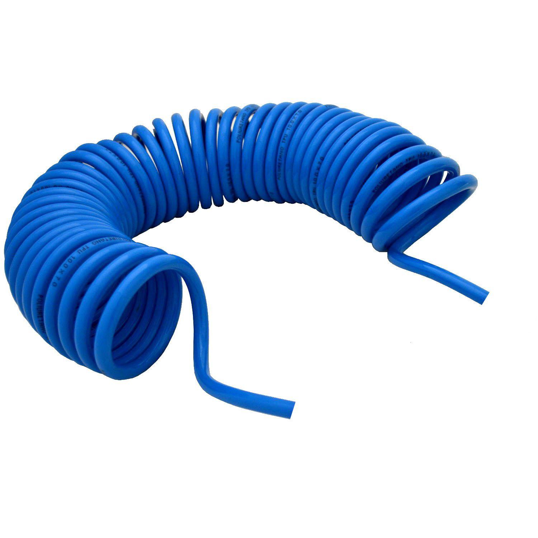 Espiral Tubo Mangueira Pneumática Poliuretano 10mm 7 Metros