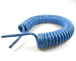 Espiral Tubo Mangueira Pneumatica Poliuretano 8mm 10 Metros
