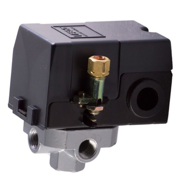 kit 10 pressostato compressor automático alavanca 80-120 4vias