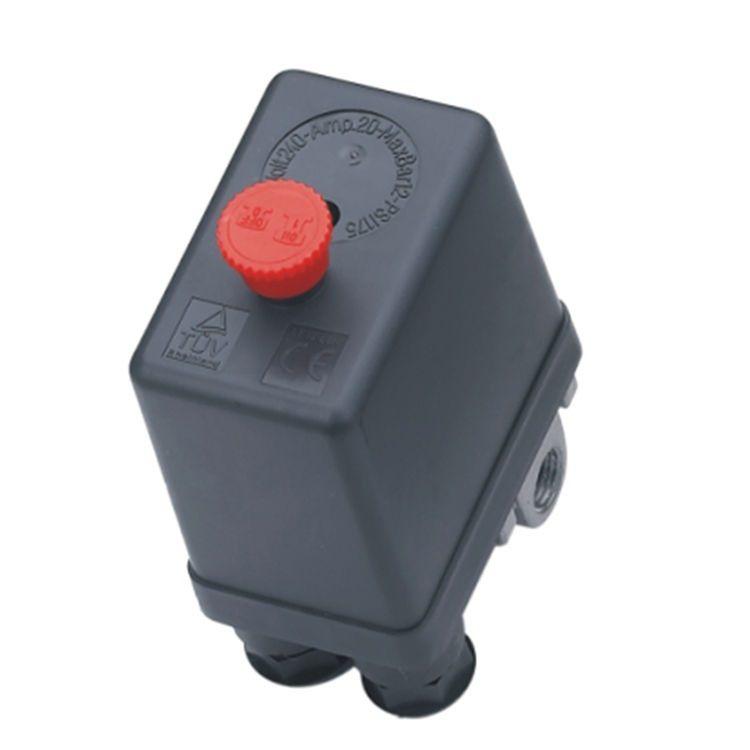 Kit 3 Pressostato Compressor Automático Botão 80-120 4 Vias