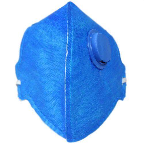 Kit 6 Máscaras Respirador Válvula Pff2 Poeiras Névoas Fumos