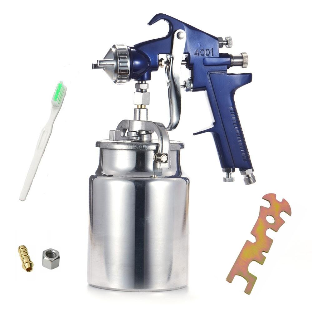 Pistola de pintura alta produção 4001 bico 1.8mm sucção