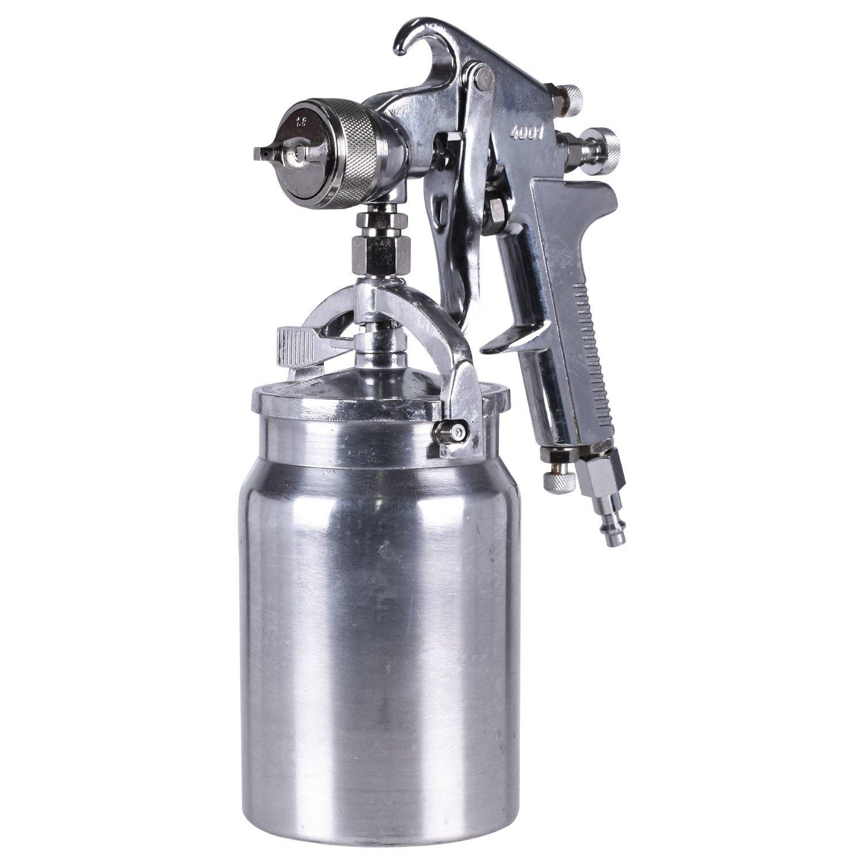 Pistola de pintura alta produção Intech bico 1.8mm sucção