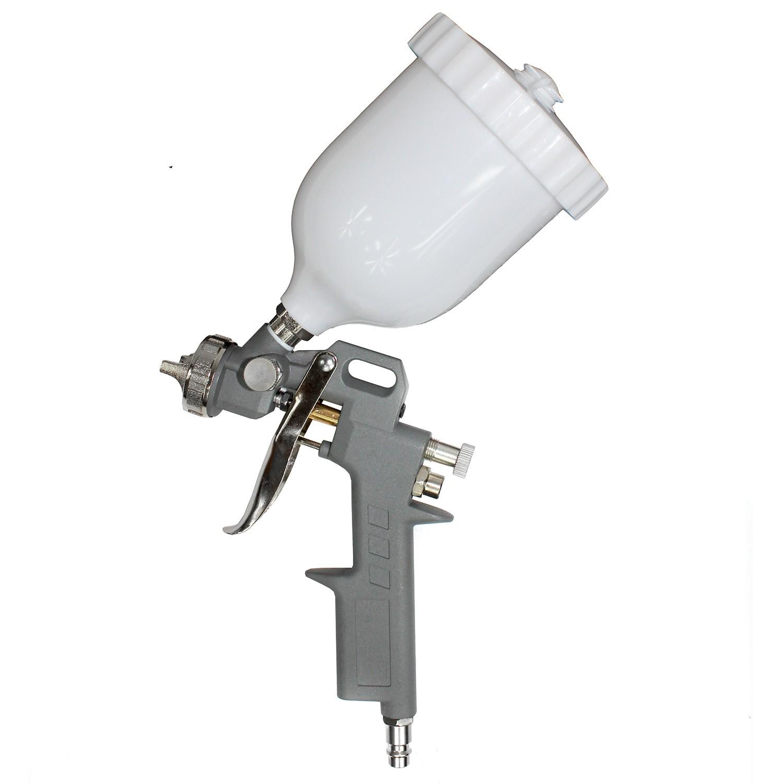 Pistola de pintura gravidade bico 1.5 baixo consumo 600ml