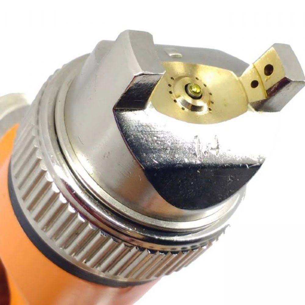 Pistola de Pintura  Intech de Gravidade Bico 1.4mm 600ml