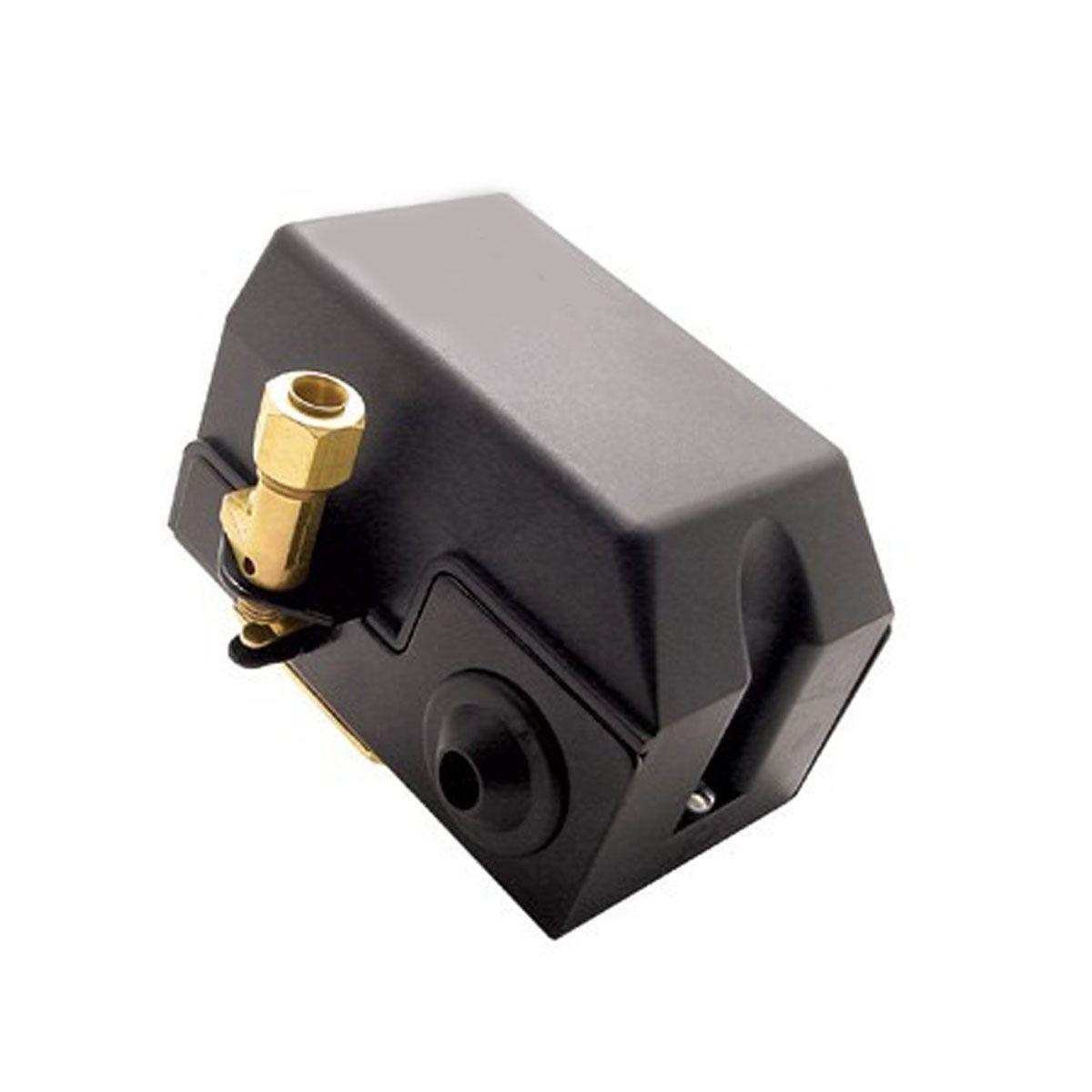 Pressostato Compressor Automático Alavanca 100 - 140 psi 1 via