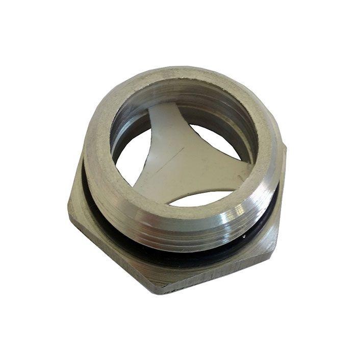 Visor Nível De Óleo Compressor De Ar Rosca 1/2 Bsp Alumínio