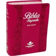Bíblia Sagrada Evangélica Tamanho Pequeno Letra Grande Linguagem Fácil Capa Pink