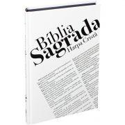 Bíblia Sagrada Texto RC  Capa Dura Com Harpa Cristã