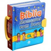 Bíblia Infantil Momentos Com Deus - Histórias e Orações