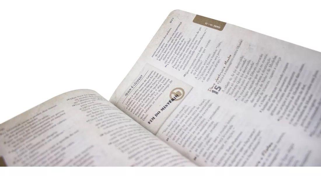 Bíblia das Descobertas Para Adolescentes- Capa Jeans - NTLH