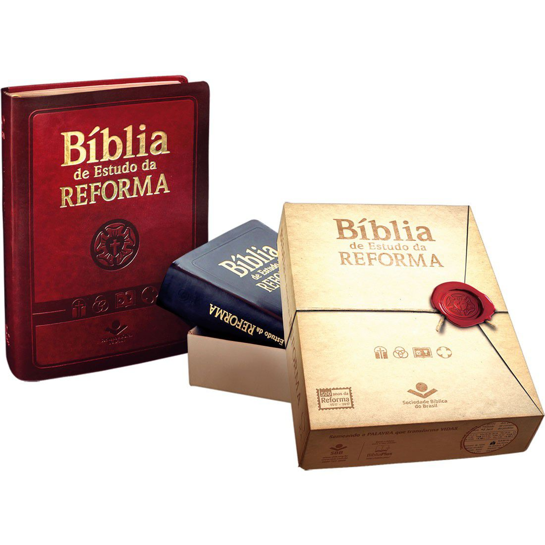 Bíblia de Estudo da Reforma - Luxo - Cor Preta