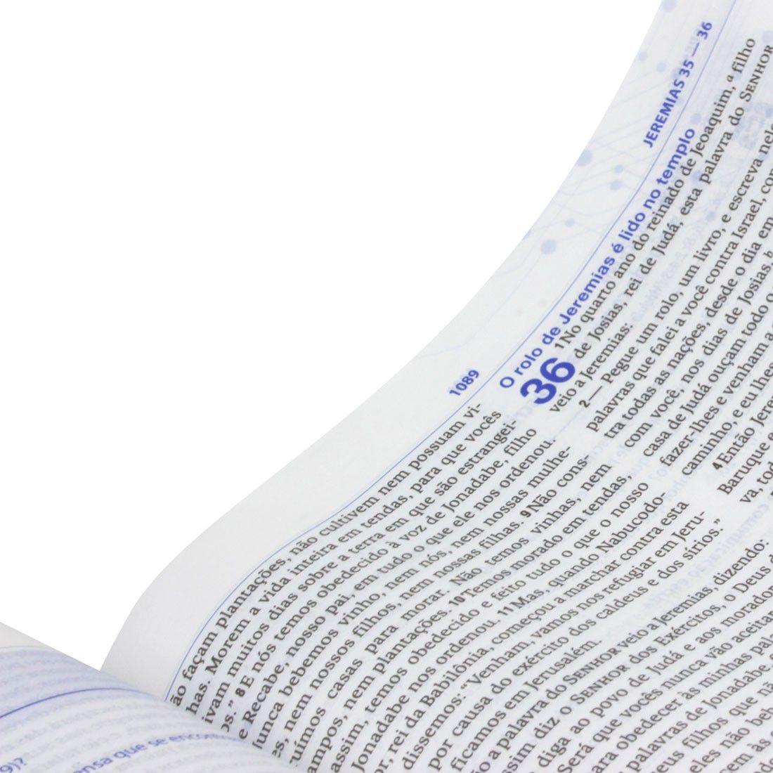 Bíblia de Estudo do Discipulado - Capa Brochura- NAA - Completa
