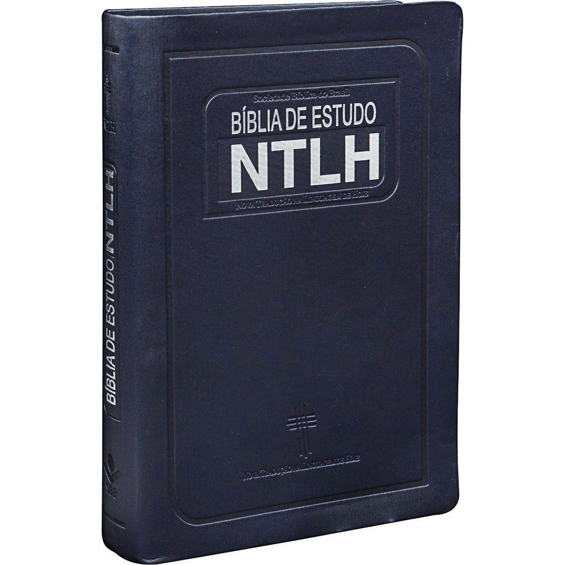 Bíblia de Estudo  NTLH - Linguagem Fácil