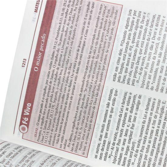 Bíblia de Estudo Plenitude para Jovens - Couro Sintético - Preta