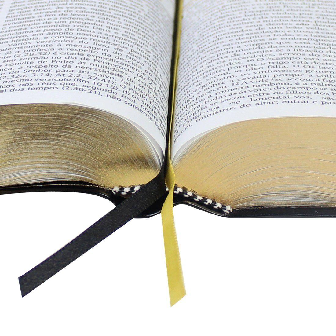 Bíblia de Estudo Pregando Com Poder – ARC Preto Luxo