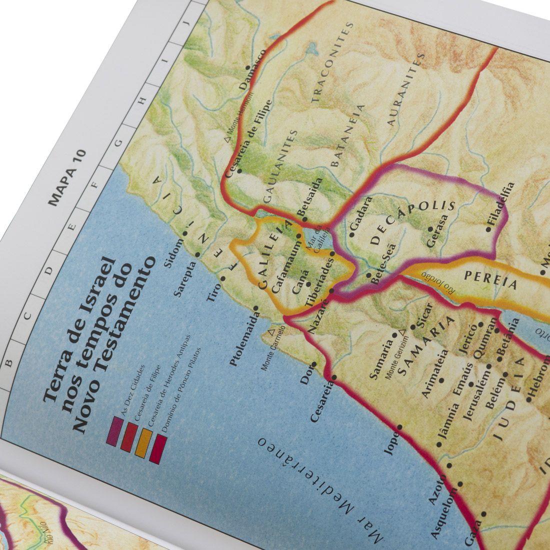 Bíblia Evangélica Letra Extragigante Com Índice e Palavra de Jesus em Vermelho - ARC