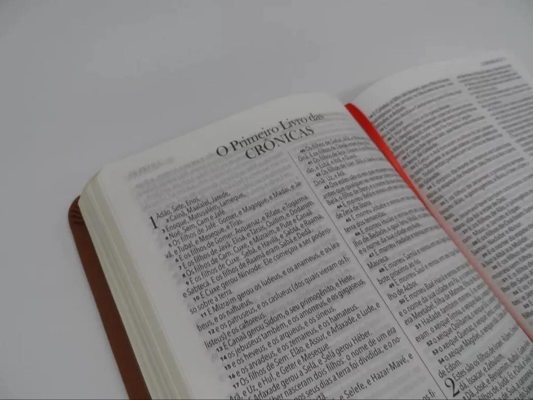 Bíblia King James 1611 Ultra Fina Capa Luxo Preta