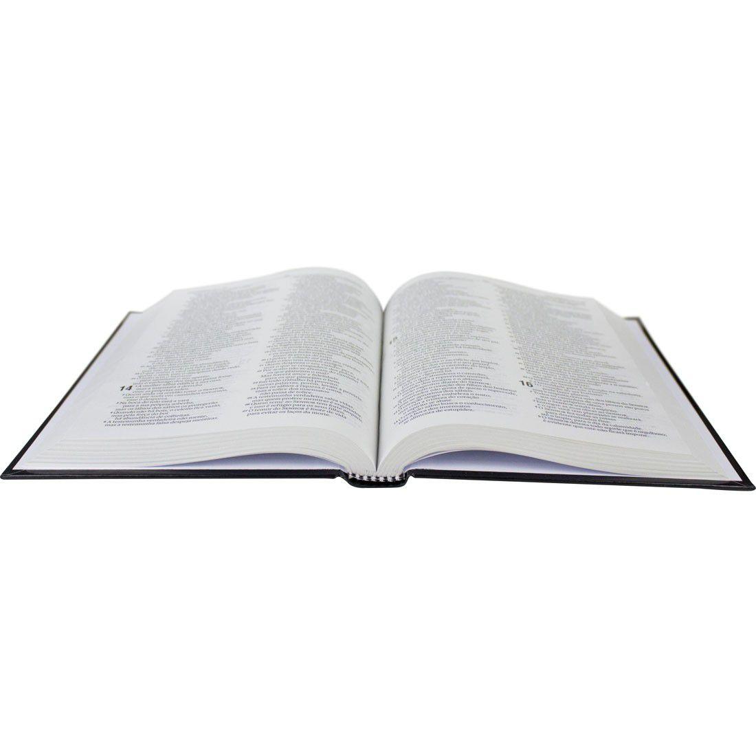 Bíblia Sagrada Capa Dura - Linguagem Atual - Âncora Amarela