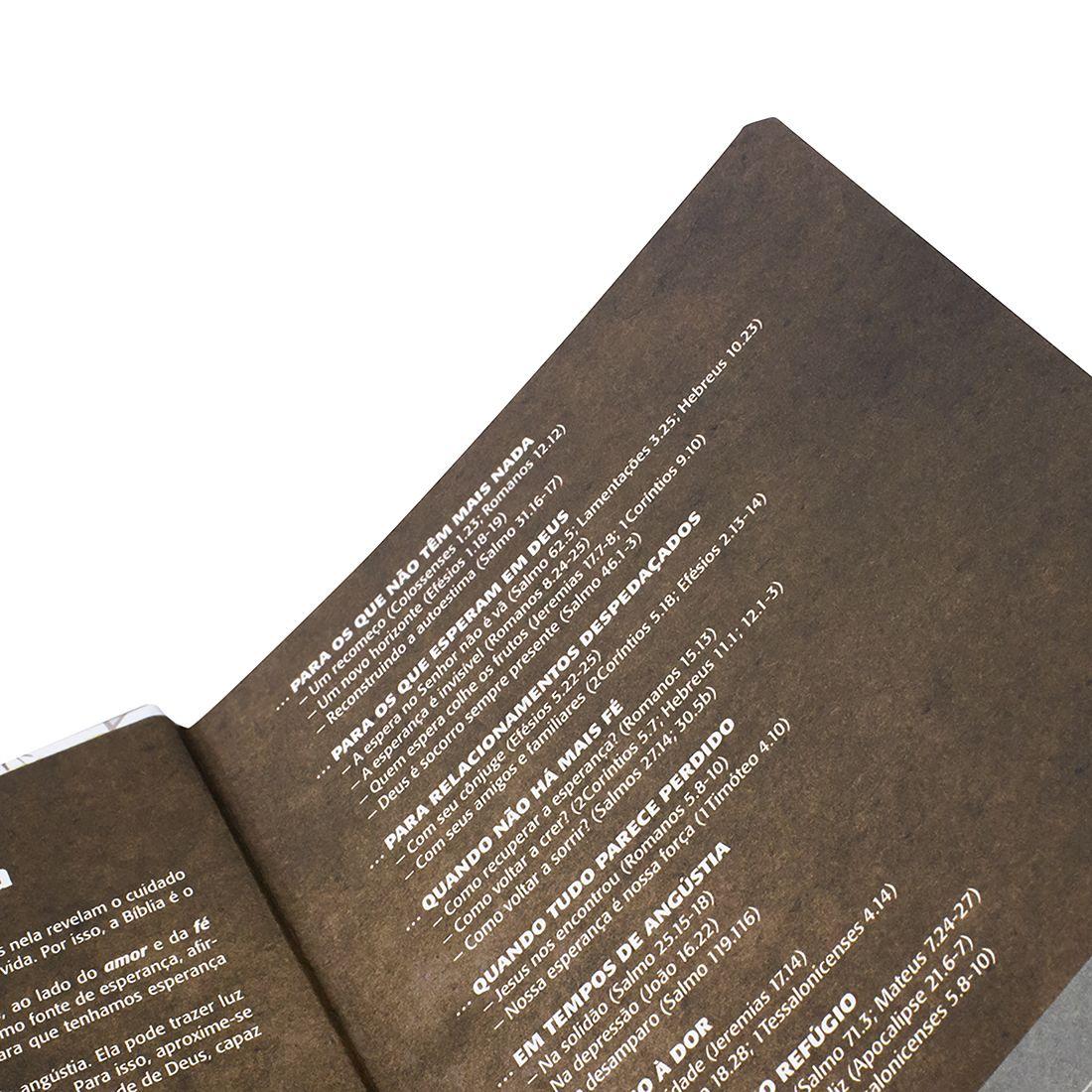 Bíblia Sagrada Evangélica NTLH Lettering Capa Dura Flores Linguagem Fácil