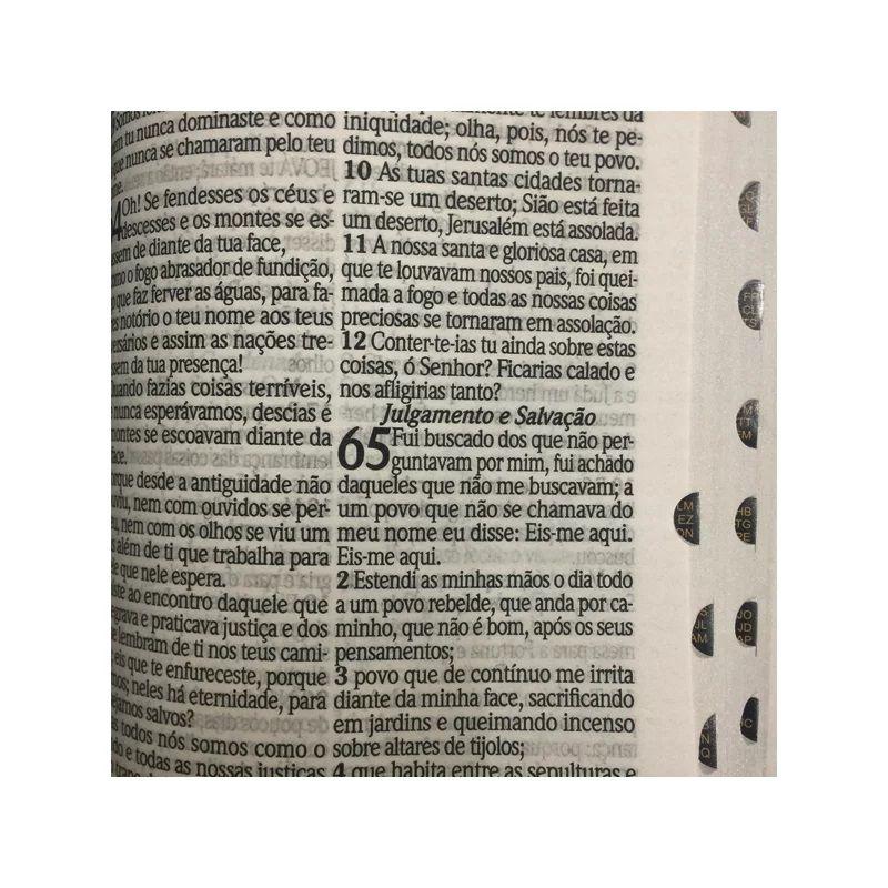 Bíblia Sagrada João Ferreira | RC | Harpa Avivada e Corinhos | Letra Hipergigante | Capa Luxo Preta