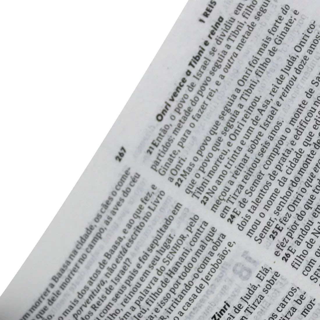 Bíblia Sagrada Letra Gigante c/Índice Capa Luxo Rosa Claro - RA