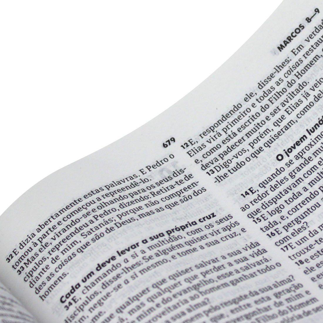 Bíblia Sagrada Tradicional - Capa Dura Preta - RC