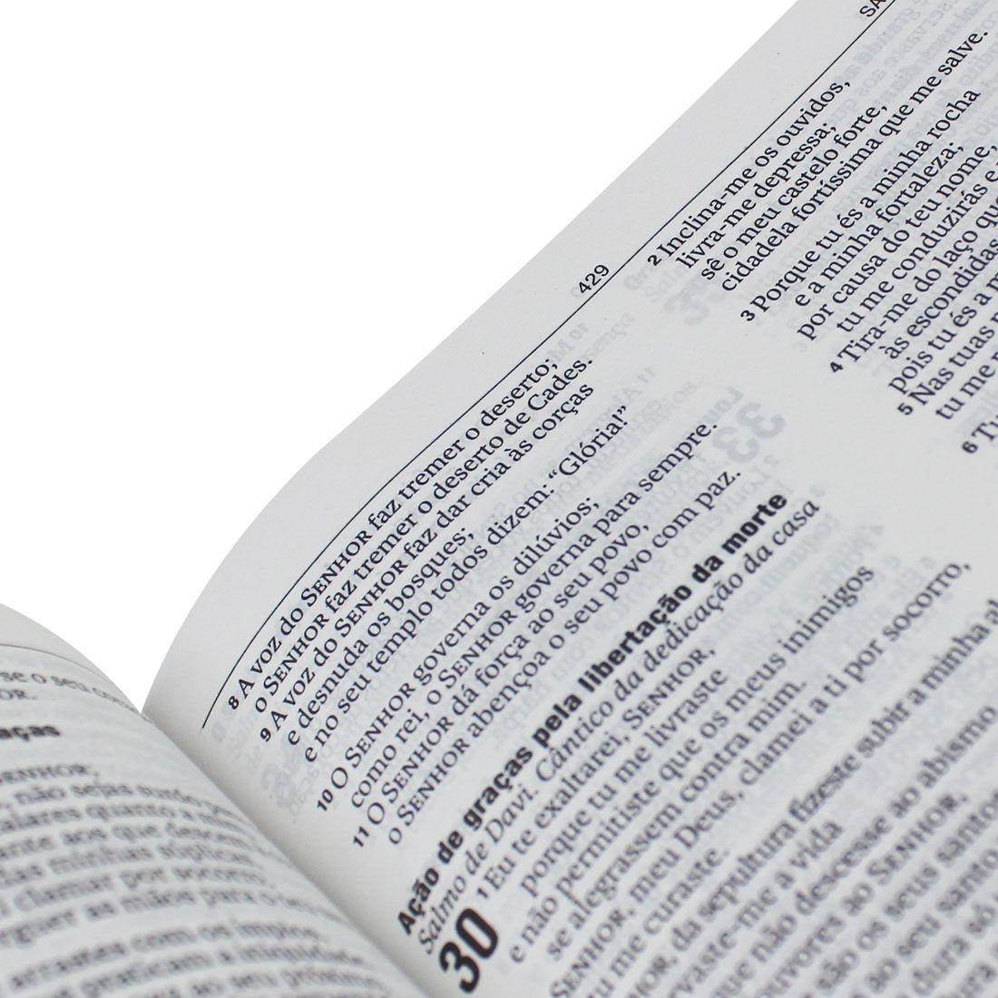 Bíblia Evangélica Nova Almeida Atualizada Capa Rosa Claro