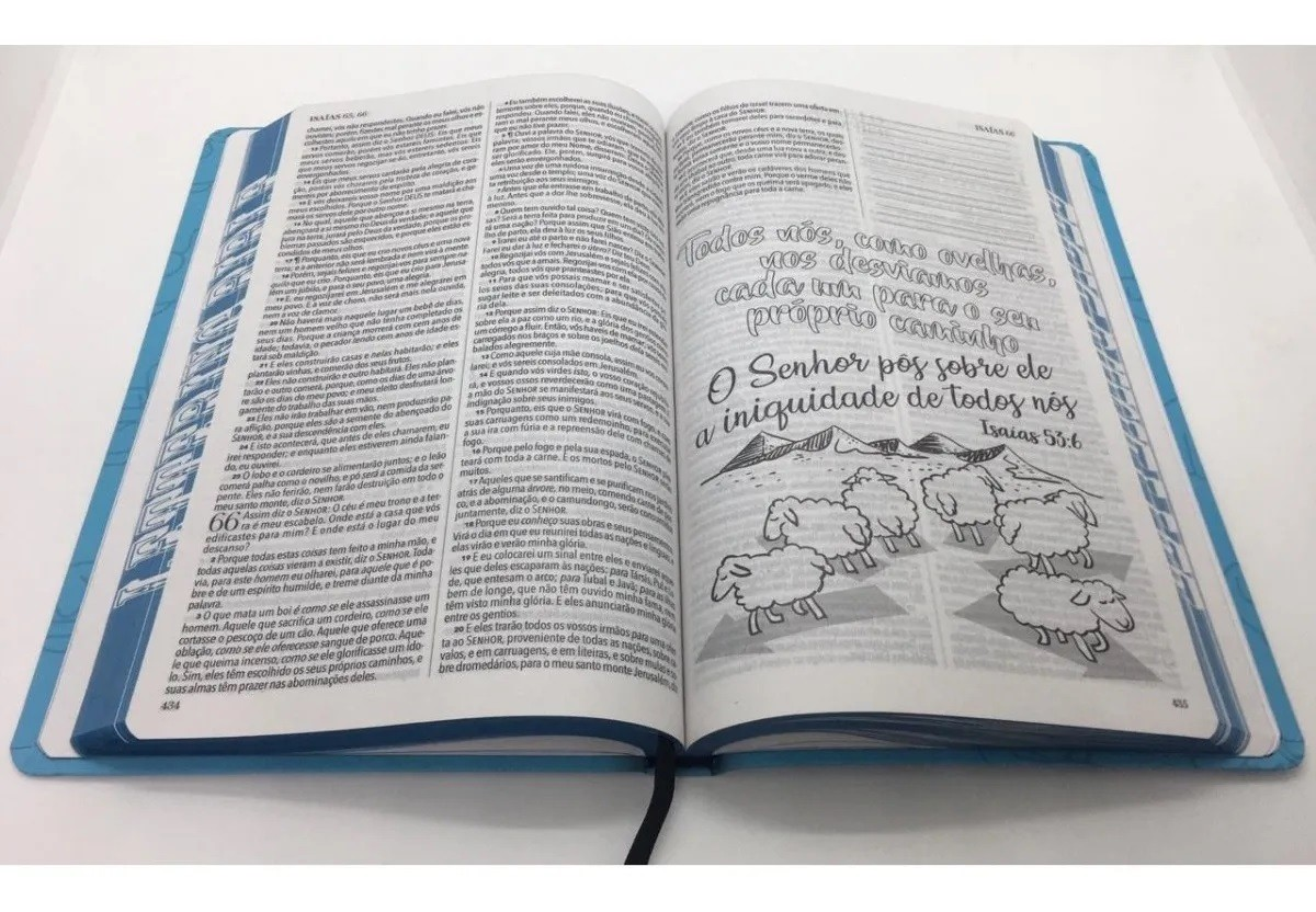 Bíblia Sagrada King James 1611 Lettering Bible Capa Jovem Universo