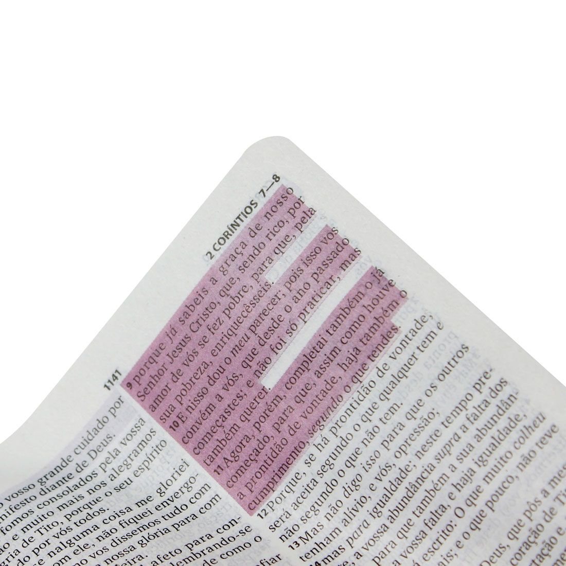 Bíblia Sagrada Pequena Com Fonte Benção | Harpa Cristã | Capa Luxo | Cor Preta