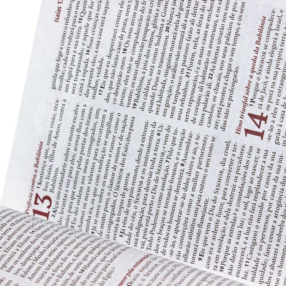Kit Bíblia Sagrada Feminina Capa Branca Com Flôr + Bíblia Descobertas p/ Adolescentes Capa Jeans