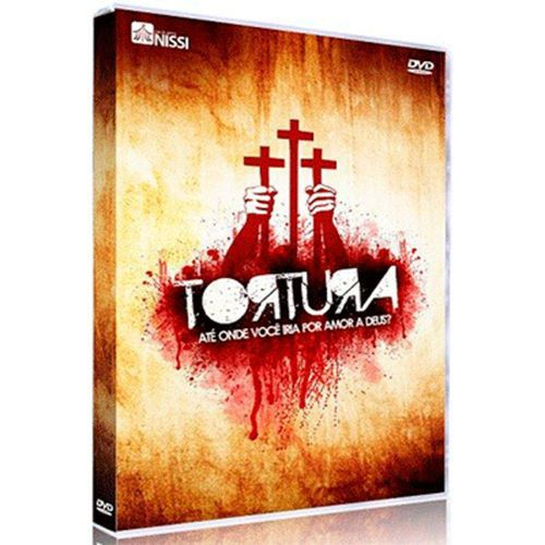 DVD Tortura - Até Onde Você Iria Por Amor A Deus? - Companhia De Artes Nissi