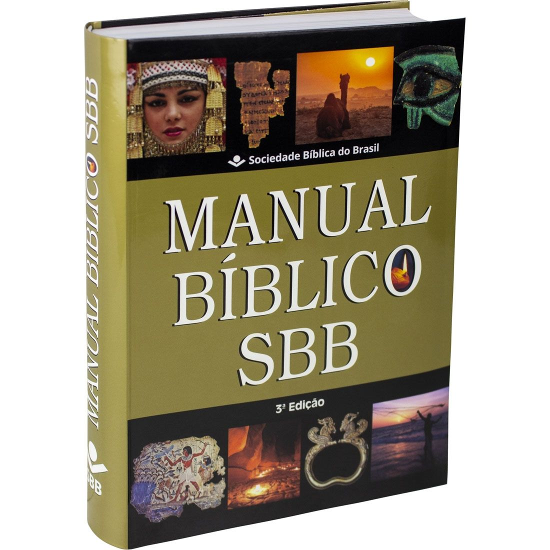 Kit Bíblia Sagrada Letra Gigante Índice Luxo Pink NTLH + Manual Bíblico SBB 3ª Edição