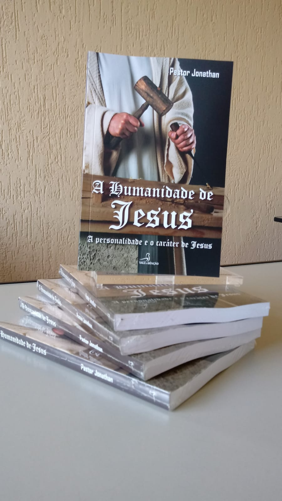 Livro A Humanidade De Jesus Pastor Jonathan F Santos