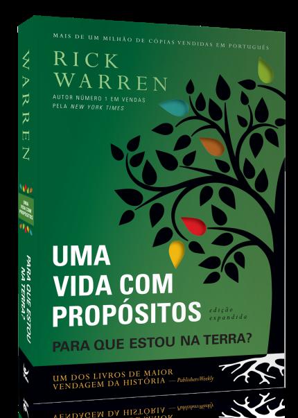 Uma Vida com Propósitos - Ed. Expandida - Livro Rick Warren