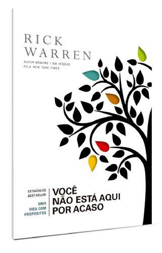 Você não está aqui por acaso - Rick Warren - Livreto Bolso