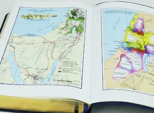 Bíblia SBTB ACF RCM Letra Gigante Luxo Couro (Preta)  - Livraria Betel