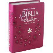 Bíblia da Mulher RC SBB (Vinho)