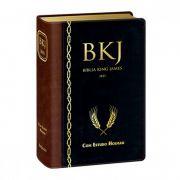 Bíblia de Estudo King James 1611 Holman (Preto com Marrom)