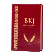 Bíblia King James Fiel Tradução 1611 (Vinho)